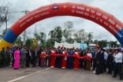Thông xe vận tải đường bộ Việt Nam với Campuchia