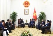 Thủ tướng Nguyễn Xuân Phúc tiếp Tổng giám đốc điều hành cấp cao Mitsubishi Motors