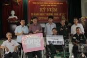 Nhiều hoạt động đền ơn đáp nghĩa nhân 70 năm Ngày Thương binh - liệt sỹ