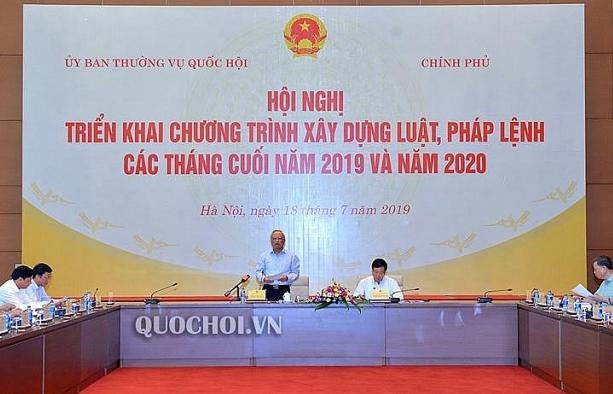 chuong trinh xay dung luat phap lenh se tiep tuc duoc dieu chinh