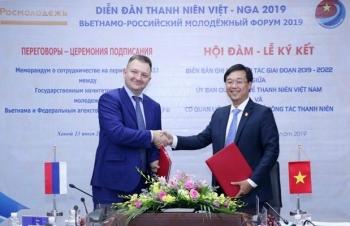 khai mac dien dan thanh nien viet nam lien bang nga nam 2019