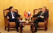 Bộ trưởng Trần Tuấn Anh gặp song phương Bộ trưởng Bộ Công Thương Philippines, Lào