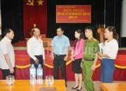 Đại biểu Quốc hội Lê Minh Chuẩn tiếp xúc cử tri 2 huyện Đầm Hà và Bình Liêu