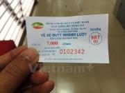 Hà Nội thí điểm dùng vé điện tử trên tuyến buýt nhanh BRT đầu tiên