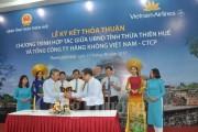 Thừa Thiên Huế và Vietnam Airlines ký thoả thuận hợp tác
