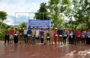 Thủy điện Sơn La cùng các đơn vị đối tác hỗ trợ các gia đình bị ảnh hưởng do lũ quét