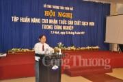 Hơn 100 doanh nghiệp tham gia tập huấn Sản xuất sạch hơn tại Huế