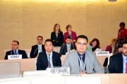 Việt Nam thay mặt ASEAN khẳng định cam kết đối với cơ chế UPR