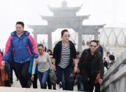 Check-in đỉnh Fansipan cùng công chúa Thái Lan