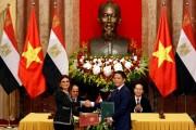 Ký Biên bản hợp tác giữa Bộ Công Thương Việt Nam và Bộ Công Thương Ai Cập