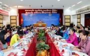 Trung ương Hội Liên hiệp Phụ nữ Việt Nam và Lào tăng cường hợp tác