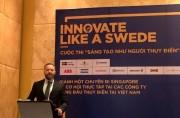 Thụy Điển khuyến khích giới trẻ Việt Nam đổi mới, sáng tạo
