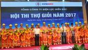 Nghệ An sôi nổi Hội thi thợ giỏi điện lực miền Bắc năm 2017