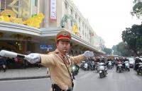 ha noi phan luong giao thong phuc vu le quoc tang chu tich nuoc