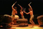 Trình diễn trống Nhật Bản tại phố cổ Hà Nội