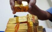Giá vàng bật tăng ngày cuối tuần