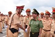 Ra quân bảo đảm giao thông cho Tuần lễ cấp cao APEC