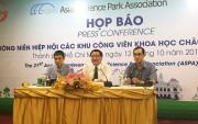 Việt Nam đăng cai tổ chức Hội nghị khu công viên khoa học châu Á