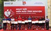 """Hiến máu tình nguyện """"Bảo Việt - Vì những niềm tin của bạn"""""""