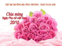 lanh dao bo cong thuong gui thu chuc mung chi em phu nu nganh cong thuong