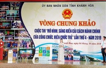khanh hoa ket thuc hoi thi ve cai cach hanh chinh nam 2019