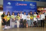 Cảng hàng không Cam Ranh đón chuyến bay trực tiếp đầu tiên từ Hồng Kông