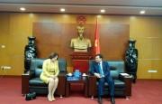 Thứ trưởng Hoàng Quốc Vượng tiếp Tổng thư ký ICSID