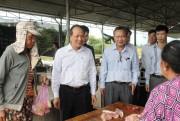 Thứ trưởng Cao Quốc Hưng và đoàn công tác kiểm tra kết quả xây dựng nông thôn mới tại Khánh Hòa