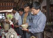 Hội cổ vật sông Lam trưng bày và đấu giá cổ vật
