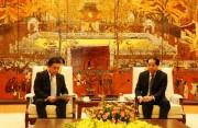 Phó Chủ tịch UBND TP Nguyễn Doãn Toản tiếp đoàn Liên minh nghị sĩ hữu nghị tỉnh Saitama, Nhật Bản