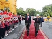 Việt Nam-Trung Quốc ký kết và trao 19 văn kiện hợp tác