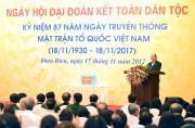 Thủ tướng dự Ngày hội đại đoàn kết phường Điện Biên
