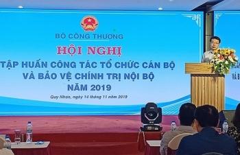 bo cong thuong tap huan cong tac to chuc can bo va bao ve chinh tri noi bo