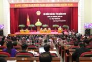 Khai mạc họp kỳ thứ 4 - khóa XIII HĐND tỉnh Quảng Ninh