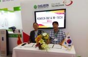 Doanh nghiệp thành phố Daejon gặt hái thành công tại Hội chợ Triển lãm Việt Nam