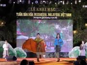 Tuần văn hóa Malaysia - Indonesia - Việt Nam: Hội tụ sắc màu