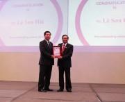 """Giải thưởng """"Lãnh đạo CNTT&ANTT Ðông Nam Á tiêu biểu năm 2016'"""