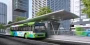 Hà Nội: Đầu năm 2017 tuyến buýt nhanh chính thức hoạt động