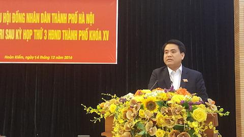 Chủ tịch UBND Thành phố Nguyễn Đức Chung