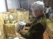 Hà Nội: Thu hơn 2 tấn nguyên liệu trà sữa không rõ nguồn gốc của TACO