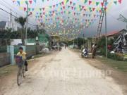 Bà con giáo dân Nghệ An đồng lòng xây dựng nông thôn mới