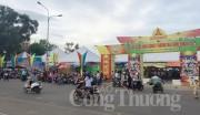 300 gian hàng trưng bày tại Hội chợ Công nông nghiệp - Thương mại Bình Thuận 2016