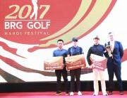 Giải gôn truyền thống 2017 BRG Golf Hà Nội Festival kết thúc thành công