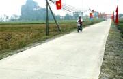 Ninh Bình hướng đến nông thôn mới kiểu mẫu