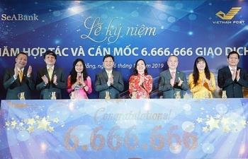 seabank va vnpost ky niem 4 nam hop tac can moc 6666666 giao dich