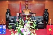 Bộ trưởng Trần Tuấn Anh tiếp Đại sứ Úc tại Việt Nam