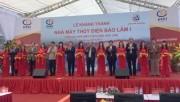 PCC1: Khánh thành Nhà máy thủy điện Bảo Lâm 1