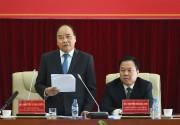 Thủ tướng Nguyễn Xuân Phúc mong muốn Cao Bằng phát triển xanh dựa trên 3 trụ cột
