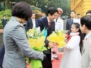 Thủ tướng Nhật Bản Shinzo Abe và phu nhân sẽ thăm Việt Nam vào thứ 2 tuần tới