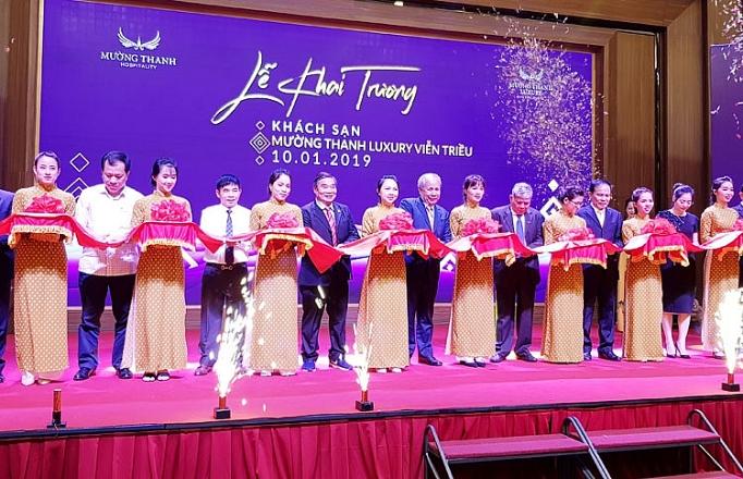 khai truong khach san muong thanh luxury vien trieu tai khanh hoa
